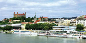 Bratislava by Bus and Boat